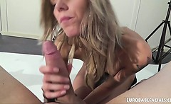 sindy vega gets fucked and covered in cum