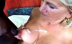 Mature granny hardcore fucking and cumshots