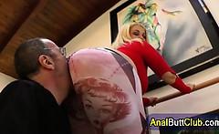 big ass plump slut face sits