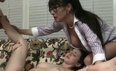 Young Slutty Pussy Fills Hot Cum Cream