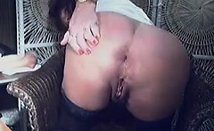 Mature Woman Teasing Her Ass