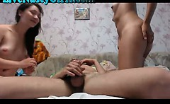 Hot Webcam Thressome Does it All 1