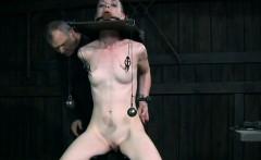 Nipple penalised submissive punished hard