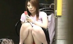 Public Upskirts In Japan