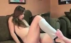 Russian Teen Getting Pounded