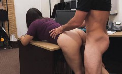 She gets pounded because of stealing in the pawn shop