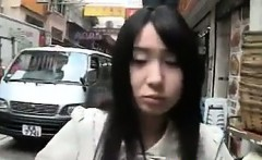 Japanese Girl Flashing Her Body