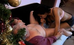 Bruce a sloppy old guy enjoys to bang young damsels like Pet