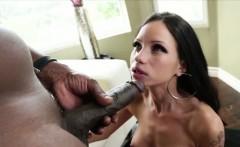 Sexy Raven monster lust devours Lex cock
