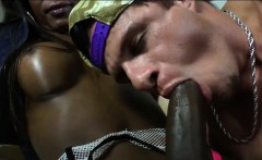 Ebony TS Isabela sits on her lovers face