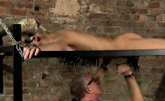 Hot gay Draining A Slave Boys Cock