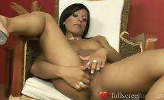 kyra black stripping panties and masturbating