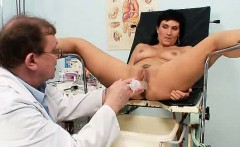 Big-breasted mother Valentina Rush real gyno exploration