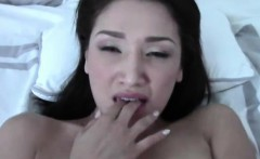 Sweet Asian Girlfriend Fucking And Taking A Load