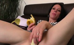 2 cocks and few vegetables in the pussy of Jessica