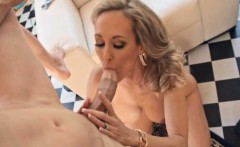Older woman Brandi Love fucked real hard by younger guy