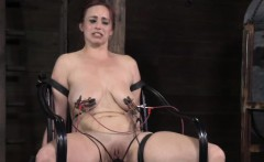 Pathetic sub getting shock therapy