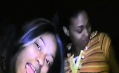 Dirty Dark Amateur Lesbians Going Wild