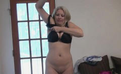 Blonde MILF Zoey Tyler Plays Dress Up