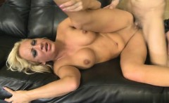 Busty housewife bound and fucked