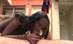 Hardcore Interracial with African teen slut