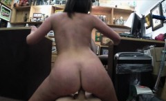 Customers sexy wife gets her pussy banged at the pawnshop