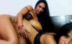 2 Hot Chicks Strip and Tease on Web Cam
