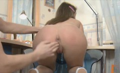Faina got her both holes fucked hard and deep