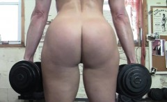 Mature Claire Gets Some POV Groping In The Gym
