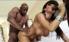 Big booty ebony stunner Megan Vaughn ass rammed by huge cock