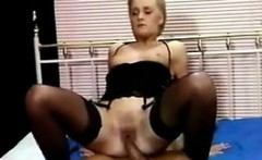 Blonde Taking It In The Ass Classic