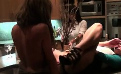Women Finger Pussies And Kiss At Sex Toy Party