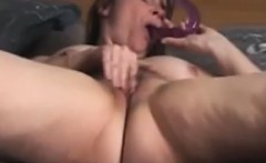 Bedroom solo orgasm busty milf Milou