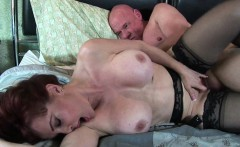 Mom loves cum on her face