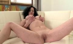 Hot girlfriend brunette anal
