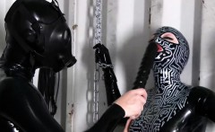 fashionable BDSM action with fetish babes