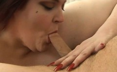 Hot interracial sex between dark chubby gal and white lad