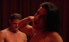 group of swingers enjoying nasty orgy in playboy mansion
