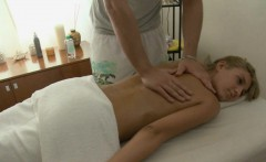 Girl gets a giant vibrator on her clits before wild drilling