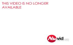 Sexy Brunette Doing A Striptease