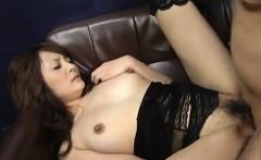 Karen Miyajima is well fucked in mouth and between hairy