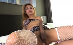 Asian Tgirl Candy B Having Sex With A Guy