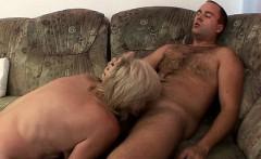 Dick Riding Saggy Butt Granny