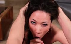 Pov fetish asian whore facefucked