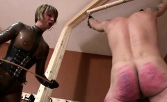 Bound And Gagged Man Caned