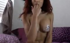 Hot Cam Slut With A Dildo