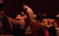 Swingers swap partners and massive orgy in the bedroom