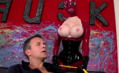 Unbelievable BDSM action with fetish glamours