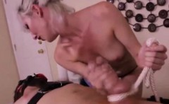 Cock domiated by masseuse