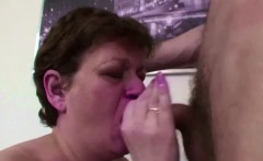 Mommy Caught Step-Son Masturbate and Help with Fuck